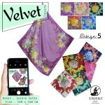 Velvet Square by Umama SG Jilbab design 5