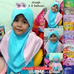 Jilbab Anak Stroberi