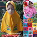 Jilbab Anak Bunga Rumput