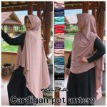 Cardigan Pet Antem 42 45 55 750 SG Jilbab