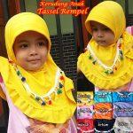 Jilbab Tassel Rempel Anak
