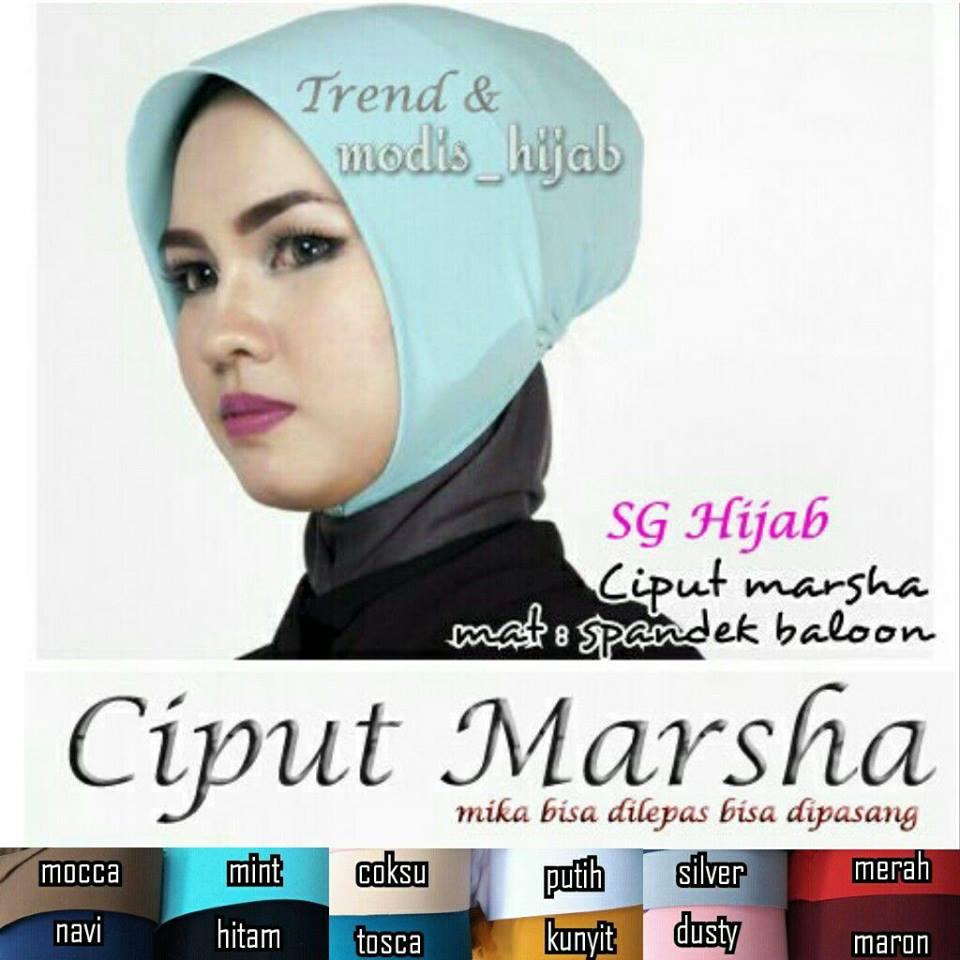 Ciput Marsha sg hijab