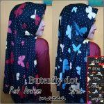Jilbab Antem Buterfly Dot