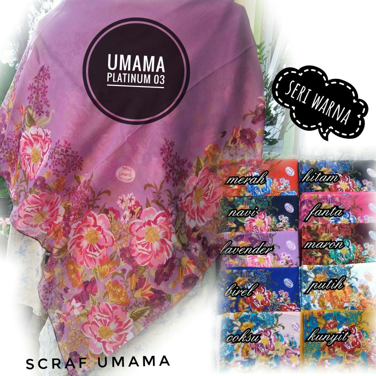 Segiempat Platinum by Umama SG Jilbab
