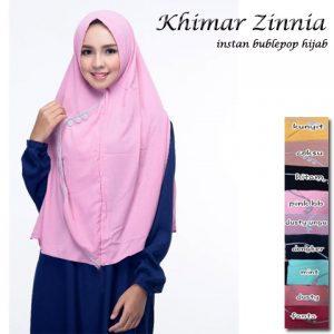 Kerudung Khimar Zinnia