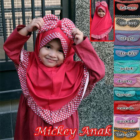 Mickey Anak SG Jilbab