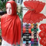 Pashmina Satin Press Payet