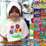 Jilbab Anak Bunga Lima