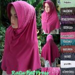 Kerudung Ratu Pet Press