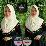 SALE STOCK Luris Tassel Pet SG JIlbab 27rb