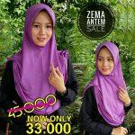 SALE STOCK Jilbab Zema Pet Antem