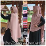 Khimar Cardigan Pet Antem