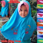 Jilbab Anak Hello Kitty Press