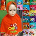 Jilbab Anak SD Bunga 5