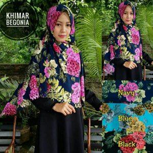 SALE STOCK Khimar Begonia