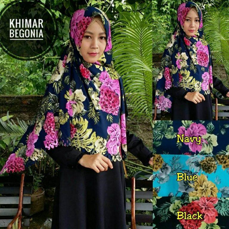 Khimar Begonia SG Jilbab