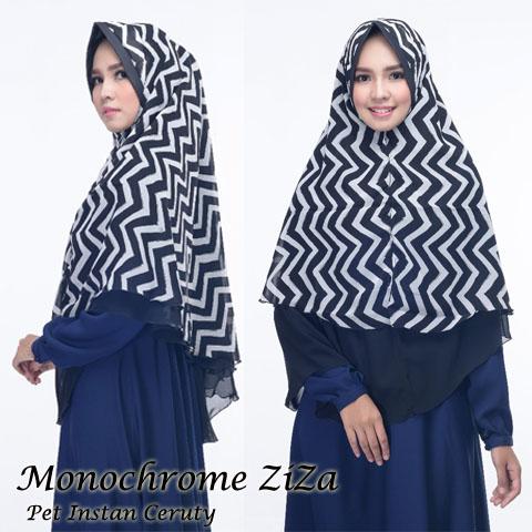 Monochrome ZiZa 50rb SG Jilbab