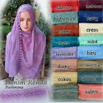 Pashmina Denim Renda