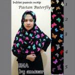 Jilbab Pastan Buterfly