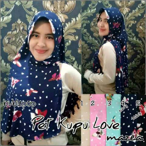Pet Kupu Love 36 39 50 670, SG Jilbab
