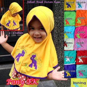 Jilbab Anak Pony TK