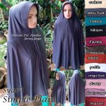 Jilbab Syar'i Simple Plain