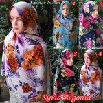 Kerudung  Syria Begonia