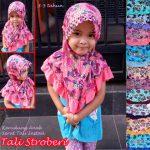 Jilbab Anak Tali Stroberi