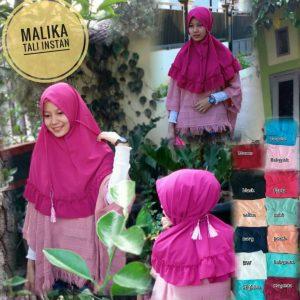 Jilbab Instan Tali Malika