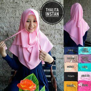 Kerudung Thalita Instan
