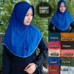 Kerudung Hanny Simple