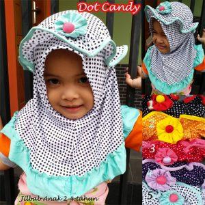 Jilbab Anak Dot Candy
