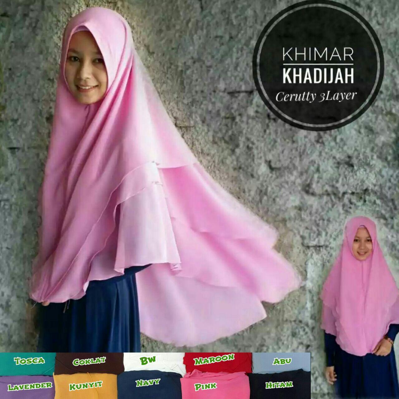 Khimar Khadijah SG Jilbab