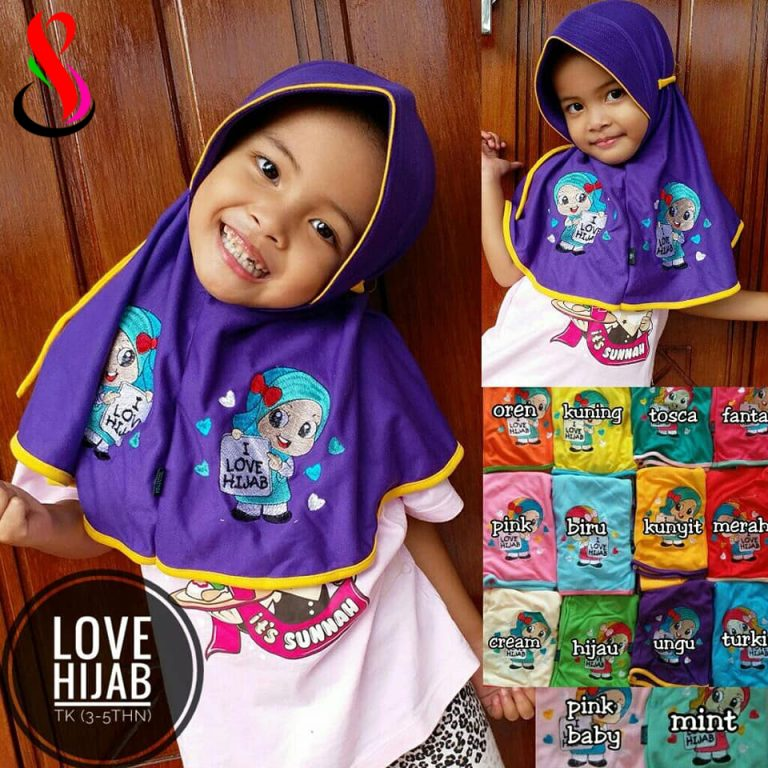 Love Hijab 20 22 30 350 SG Jilbab TK 3 -5 th