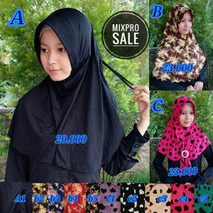 Kerudung Mixpro Sale