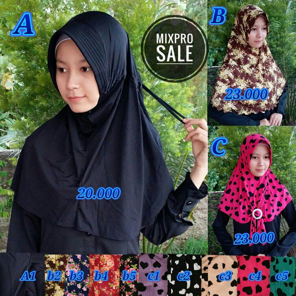 Mix Pro Sale SG Jilbab