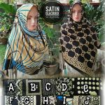 Satin Blacketnik 25 28 35 440 SG Jilbab
