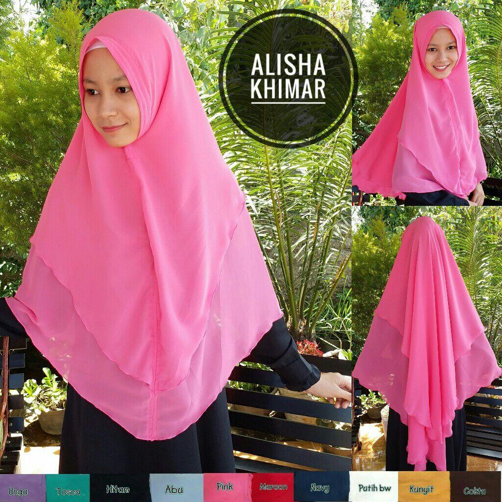 Alisha Khimar 41 44 55 760 SG Jilbab
