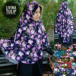 Kerudung  Livina Tulip