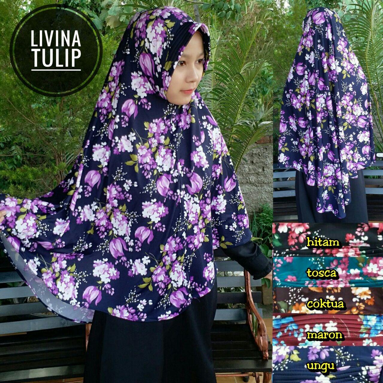 Livina Tulip 35 38 45 640 SG Jilbab