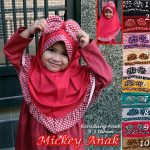 Jilbab Anak Mickey