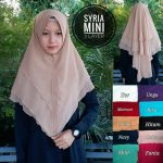 Syria Mini 3 Layer 40 43 55 740 SG Jilbab