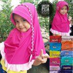 Jilbab Untun Pita Anak