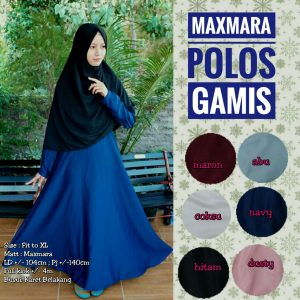 Gamis Maxmara Polos