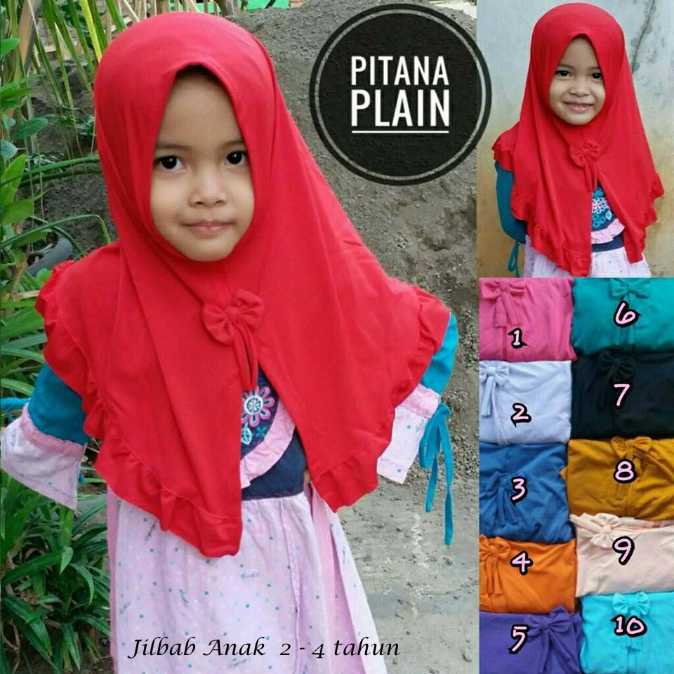 Pitana Plain 16 18 25 280 SG Jilbab