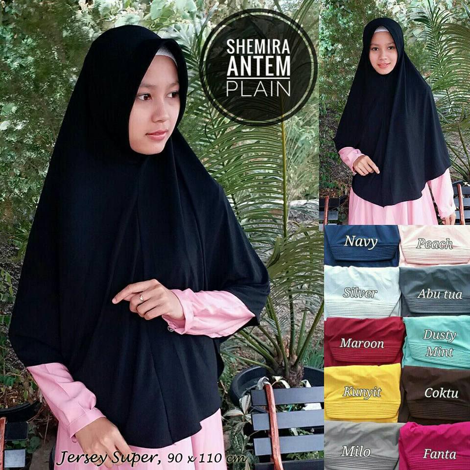 Plain Semi Antem 33 36 45 610 SG Jilbab
