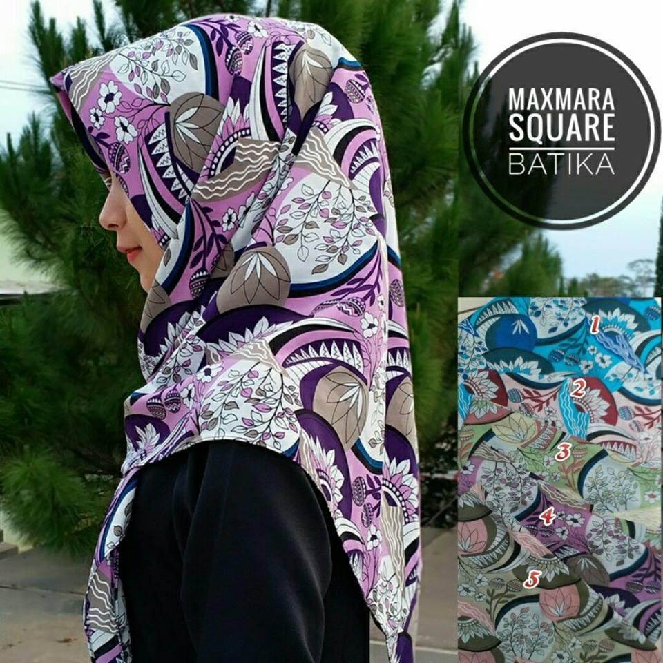 Segiempat Maxmara Batika Sentral Grosir Jilbab I Produsen Pashmina Hijab 39 42 55 710 Sg