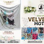 Umama Velvet 32 35 45 580 Design 7 SG Jilbab
