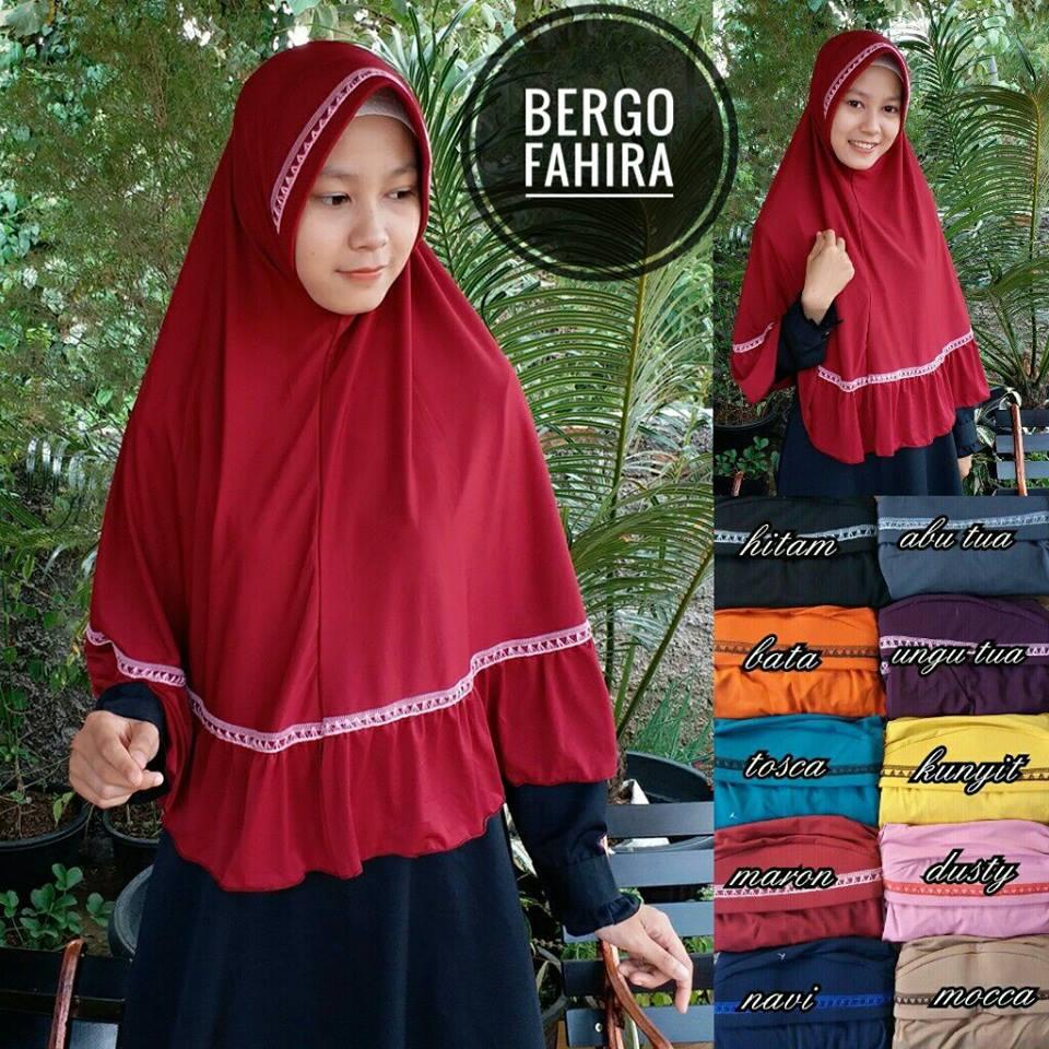 Bergo Fahira 32 35 45 590 SG Jilbab