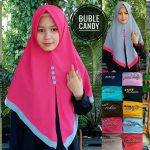 Jilbab Buble Candy